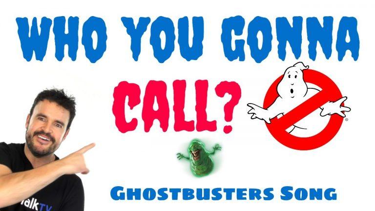 Aprende inglés con bandas sonoras de películas: ghostbusters (cazafantasmas)