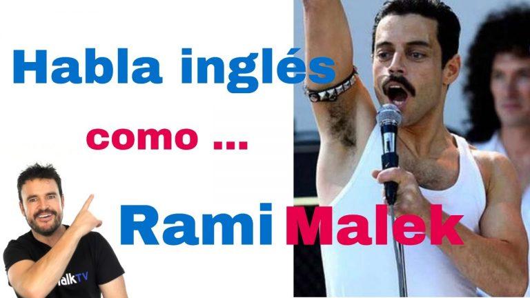 Aprender ingles con Rami Malek