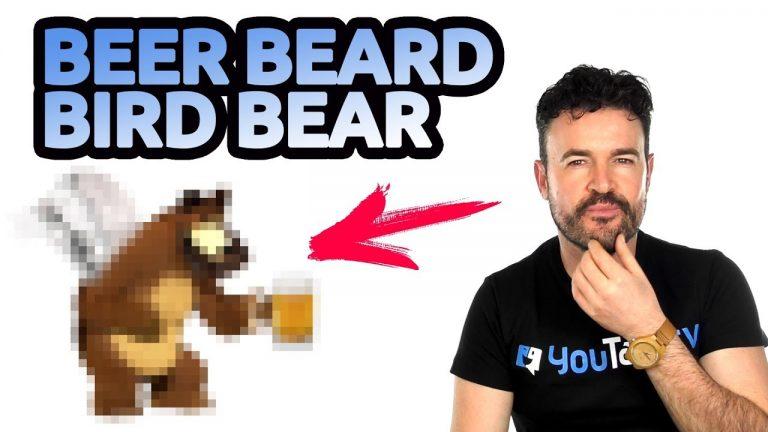cómo diferenciar bear, beard, bird, beer en inglés