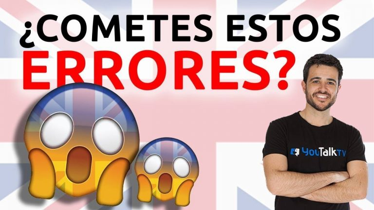 Errores típicos en inglés: 3 errores comunes