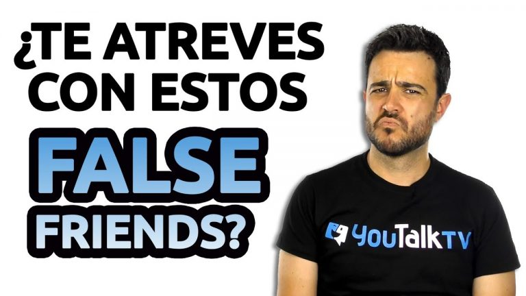 False friends en inglés más comunes