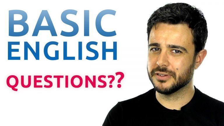 Ingles para principiantes como hacer preguntas en ingles