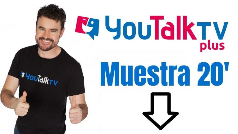 Muestra curso ingles youtalk tv plus gratis
