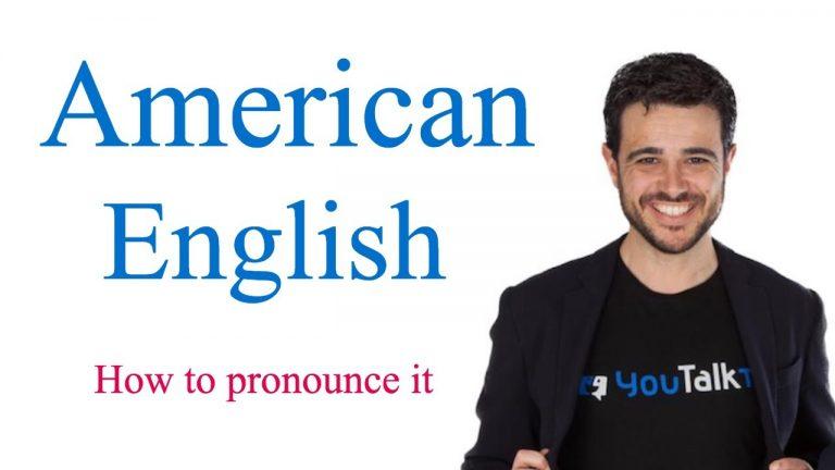 Pronunciación americana trucos