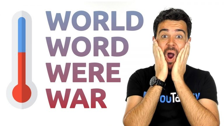 cómo pronunciar world, word, were, war