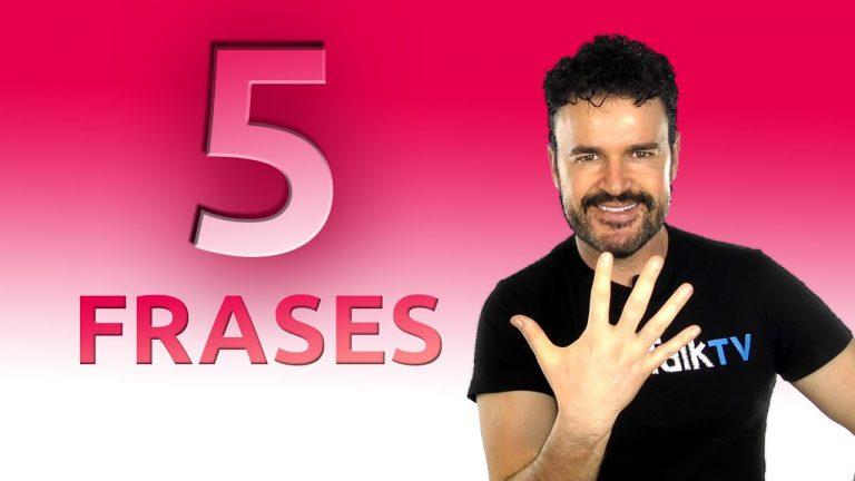 5 frases claves para tu inglés