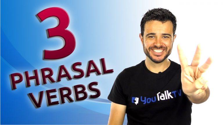 3 phrasal verbs con get