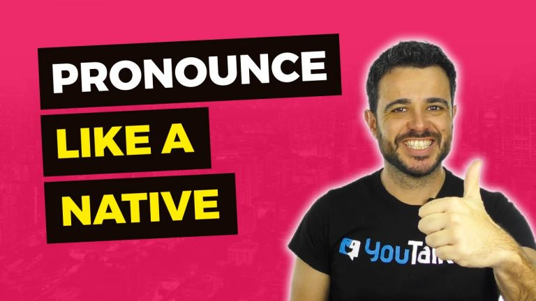 Mejora tu pronunciación en inglés